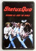 Status Quo - 'Rocking All Over the World' Fridge Magnet